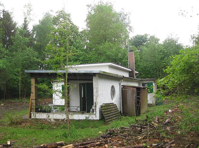 Das Wochenendhaus vor der Sanierung