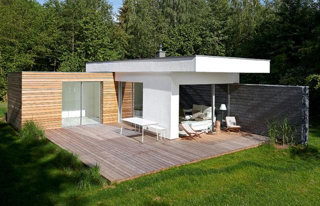 Veranda/Terrasse auf der Südseite